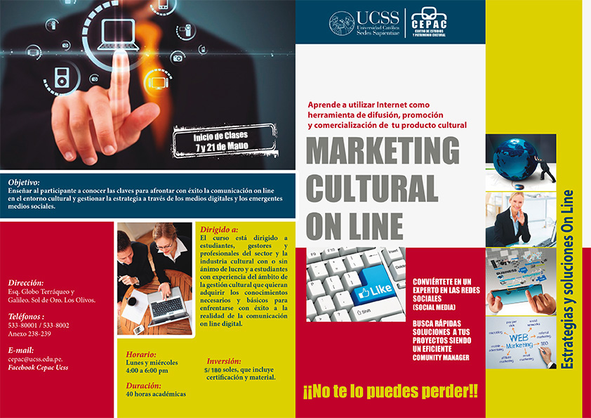 MARKETING CULTURAL ON LINE