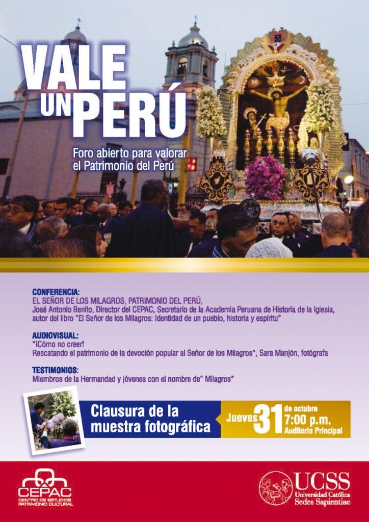 Afiche Vale un Perú