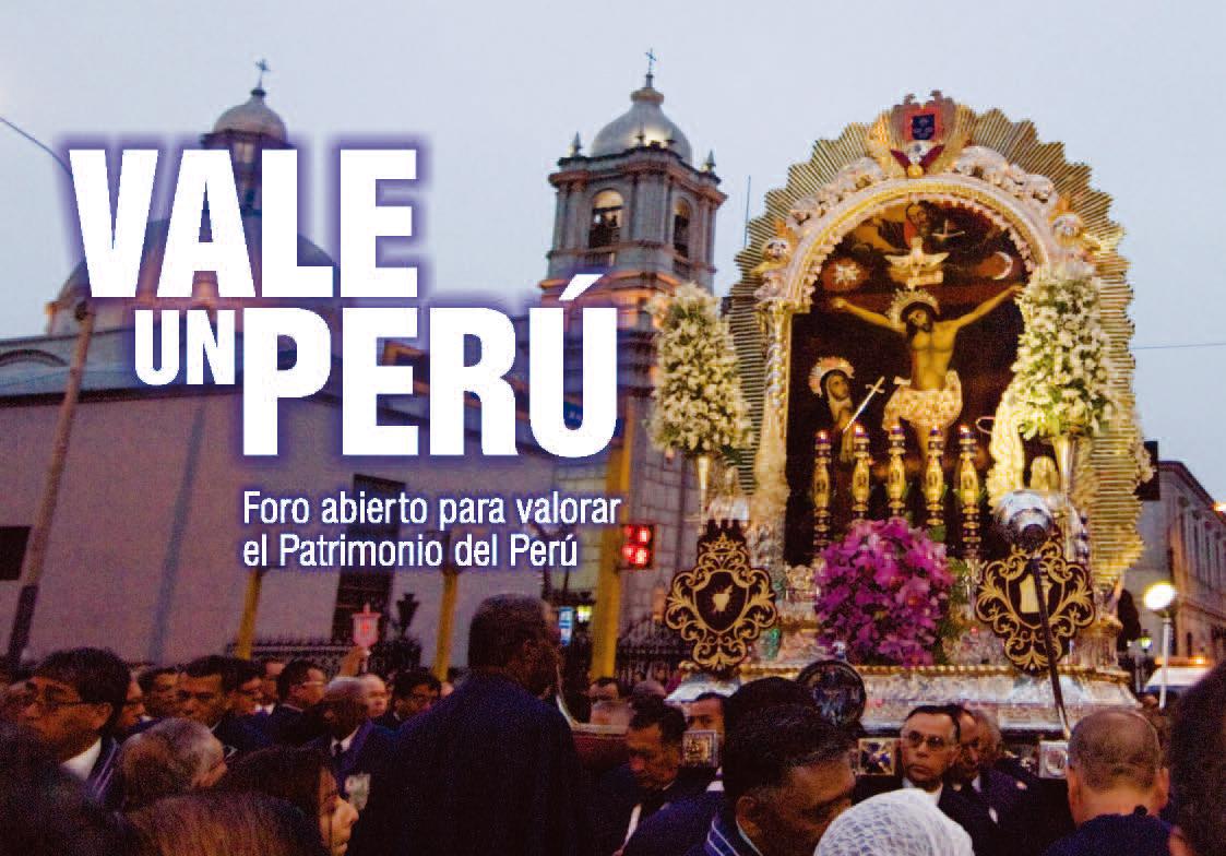 """II Foro Vale un Perú: """"El Señor de los Milagros. Patrimonio del Perú"""""""