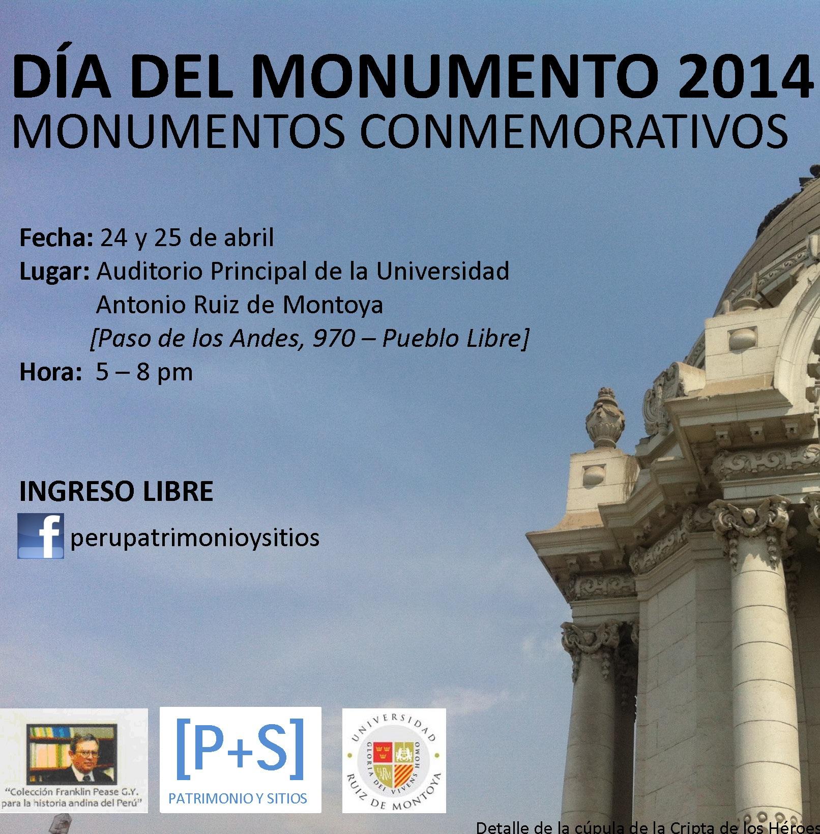 DÍA DEL MONUMENTO 2014