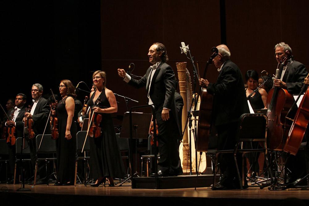 Presentación de la Orquesta Sinfónica Nacional RCPLN - UCSS