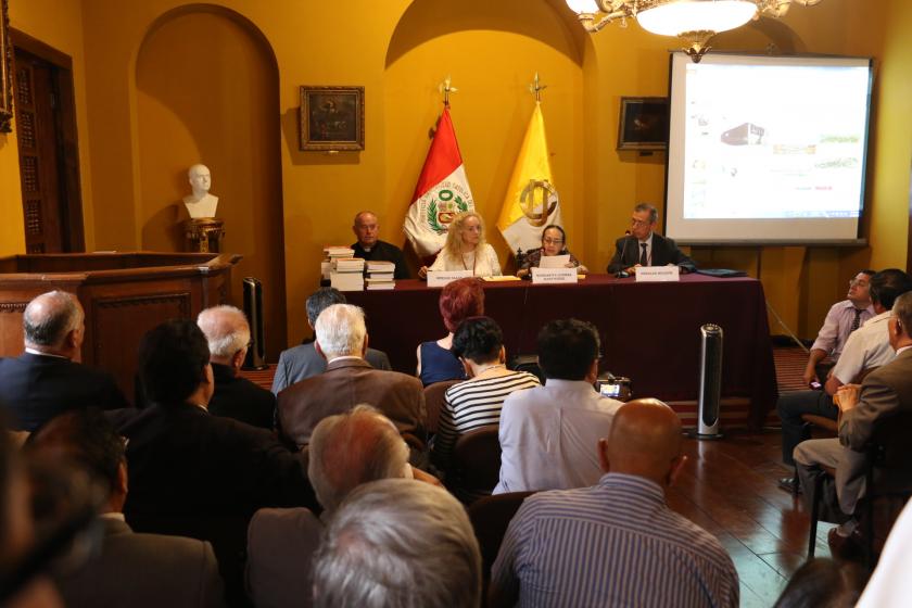 CEPAC, acreedor de Diploma al Mérito por la Promoción de la Historia del Perú